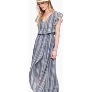 NWT Splendid Chambray Multi-Stripe Boho Chic Dress